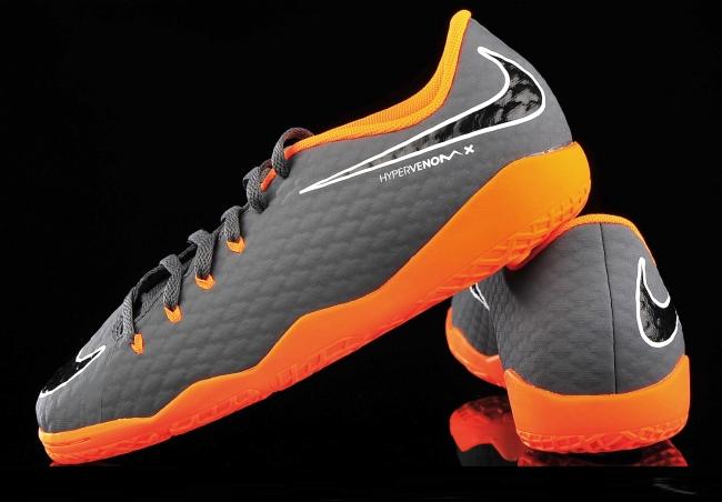 3b55e78185cf84 Фут. обувь для зала - Nike HypervenomX Phantom III Academy IC AH7295-081  (2018) (детские)